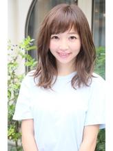 ロエナ ナチュラルひし形シルエット☆くびれミディワイドバング OL.24