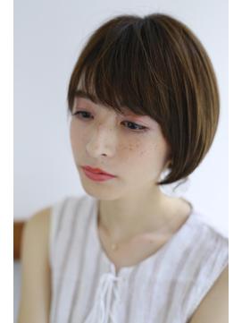 [Garland/銀座]☆エアリーな質感フェミニンショート☆