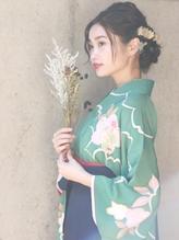 【自由が丘Neolive 】卒業式 袴着付け & ヘアセット¥12960☆.11