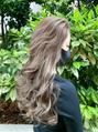 小顔かきあげロング20代30代髪質改善イルミナハイライトカラー
