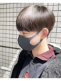 【中鉢】刈り上げマッシュ 韓国風