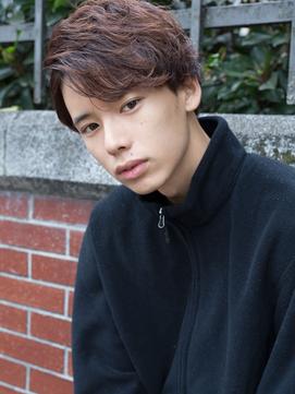 【若井】片サイドアップバング