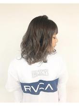 【first長町】ミディアムヘア+ハイライトカラー.14