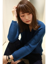 【GRAND LINE 若宮宣弘】外ハネミディアムレイヤー .39