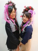 文化祭ヘアセット(^^♪ 文化祭.48