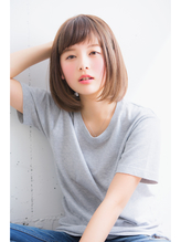 【HONEY表参道】ラフな抜け感可愛い☆小顔ミディボブ(野村悠記) かわいい.9