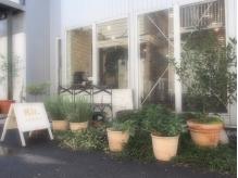お店の前にある植物達も『Kir.』の雰囲気を作ってくれています♪
