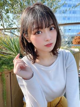 【juice阿部展大】色っぽ可愛いゆるふわ外ハネくびれボブ☆