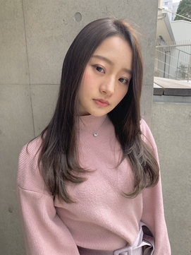 【SHUN】ミルクティーレイヤーロング