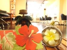 ◆ハワイアンな小物があちこちに◆