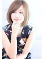 【Rose】小顔斜めバング×クラシカル×ことりベージュ★