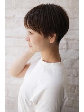 【+~ing】ハンサム刈り上げ女子ひし形ショート【畠山竜哉】