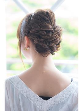 【AUBE HAIR】編み込みヘアアレンジ