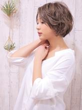 +animo南流山+ひし形シルエット☆丸みショートボブ♪f-1.37