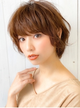 《Agu hair》大人かわいい無造作マニッシュショート.46
