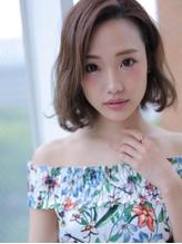 揺れるモテ髪ワンレンボブ☆.2