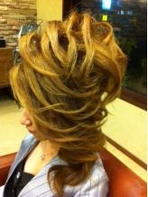 サイドカールアップ(スジ盛り) 盛り髪.60