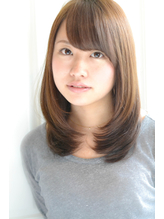 【ReiZ渋谷】ノームコア×うぶバング=女子アナ風♪3 女子アナ.56