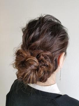 【guerir hair+care】アップ