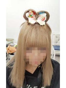 ハロウィン乙姫ヘア☆+ヘア