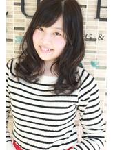 ミディアム×濃紺カラー.39