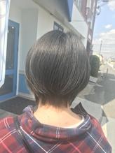 【デザインカラー丸みショート無造作カールボブディ】10.38