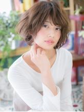 *bliss川口* ふわくしゅ無造作感★くせ毛風ラフボブa.55