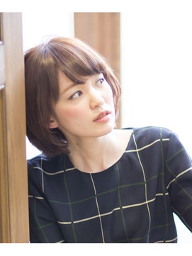 【NEUTRAL】本田泰伸 2015シースルーバング小顔ナチュラルボブ