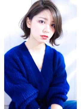 【イルミナカラーオーシャンベージュ☆ボブ】Hayato Ooshiro