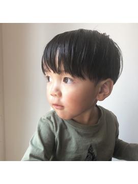 [riganuts 赤羽]キッズカット☆プチマッシュ