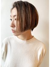 【morio】2019人気大人かわいいハンサムショートボブ.47