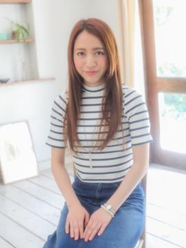 ☆後ろ髪引かれるストレートロング☆【平塚】