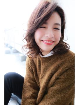 [OCEAN Hair&LIfe]大人のセミディスタイル×ラフカール☆