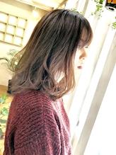 ~コトノハ~冬の グラデーションカラー ロブ モテ髪 とろみ .18