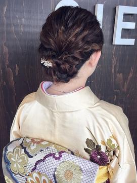 *CIEN by ar hair杉本希*着物アレンジ