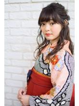 卒業式 袴着付け☆ヘアメイク 自由が丘ques .5