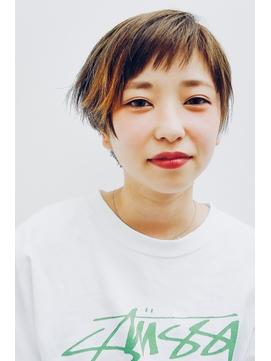 エモーショナルなベリーショート【表参道/青山 drop】
