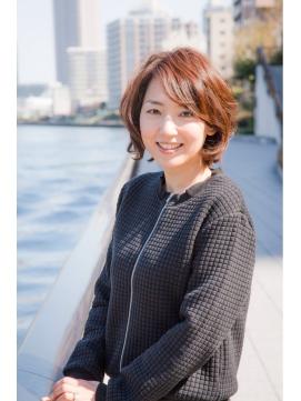 真木よう子風ショート(主婦ママ働く女性人気)