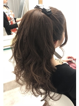 京都祇園 ヘアセットCOR ポニーテール.19