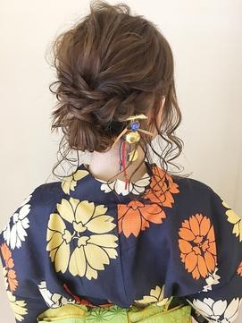 【Neolive  Kuta 町田】編み込み浴衣ヘアセット