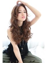 フリンジバング×エアウェーブ☆彡フェミニンロング 巻き髪.43