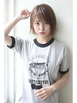 【Un ami】《増永剛大》 王道かわいい、すっきり小顔、ミニボブ
