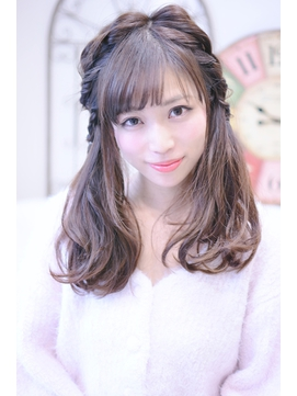 【メイズ東中野・鍛原志行】編み込みツインテール