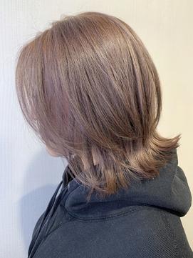 【REJOICE hair EN】ミルクティーエモージュ 担当AKIRA