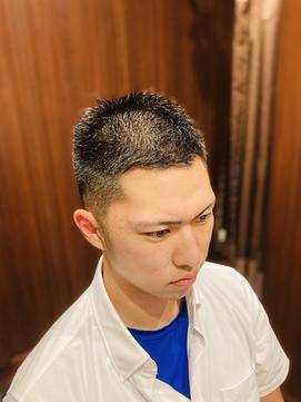 スポーツ刈り/ヒロ銀座/田町/理容室/床屋/メンズヘアサロン