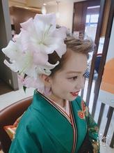 くせになる生花アレンジ .4