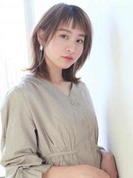 【K-two青山】ベビーバング×大人カジュアルロブヘア【表参道】