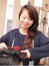 自分でキレイにスタイリングできるように、髪質やクセなどを見極めカット!毎日簡単スタイリング◎