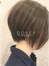 【DOVEY】長さを感じる前下がり小顔ショートボブ .40
