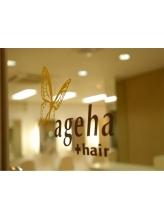 アゲハ プラス ヘア(ageha + hair)